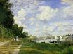 Claude Monet - The Basin at Argenteuil 1872