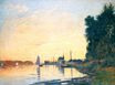 Claude Monet - Argenteuil, Late Afternoon 1872