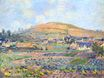 Claude Monet - The Mount Riboudet in Rouen at Spring 1872