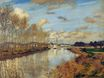Claude Monet - Argenteuil, Seen from the Small Arm of the Seine 1872