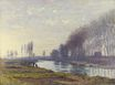 Claude Monet - The Small Arm of the Seine at Argenteuil 1872