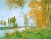 Claude Monet - The Spring in Argentuil 1872