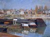Claude Monet - Seine at Asnieres 1873
