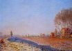 Claude Monet - The Plain of Colombes, White Frost 1873