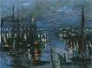 Claude Monet - The Port of Le Havre, Night Effect 1873
