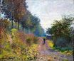 Claude Monet - The Sheltered Path 1873