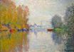 Claude Monet - Autumn on the Seine at Argenteuil 1873