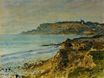 Claude Monet - Cliff at Sainte-Adresse 1873