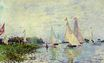Claude Monet - Regatta at Argenteuil 1874