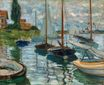 Claude Monet - Boats at rest, at Petit-Gennevilliers 1872