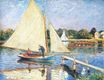 Claude Monet - Boaters at Argenteuil 1874
