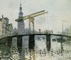 Claude Monet - The Bridge, Amsterdam 1874