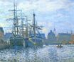 Claude Monet - The Havre, the trade bassin 1874