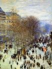 Claude Monet - Boulevard of Capucines 1874
