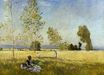 Claude Monet - Meadow at Bezons 1874