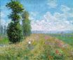 Claude Monet - Meadow with Poplars 1875
