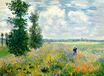 Claude Monet - Poppy Field, Argenteuil 1875