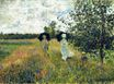 Claude Monet - The Promenade near Argenteuil 1875