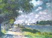 Claude Monet - The Seine at Argenteuil 1875