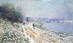 Claude Monet - The Tow Path at Argenteuil, Winter 1875