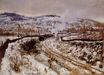 Claude Monet - Train in the Snow at Argenteuil 1875