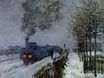 Claude Monet - Train in the Snow or The Locomotive 1875