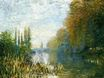 Claude Monet - The Banks of The Seine in Autumn 1876