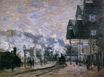 Claude Monet - Saint-Lazare Station, the Western Region Goods Sheds 1877