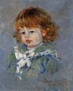 Claude Monet - Jean-Pierre Hoschede, called 'Bebe Jean' 1878