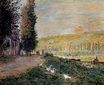 Claude Monet - The Banks of the Seine, Lavacourt 1878
