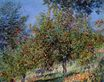 Claude Monet - Apple Trees on the Chantemesle Hill 1878
