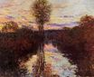 Claude Monet - The Small Arm of the Seine at Mosseaux, Evening 1878