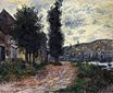 Claude Monet - Tow Path at Lavacourt 1878