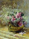 Claude Monet - Flowers in a Pot 1878