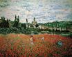 Claude Monet - Poppy Field near Vetheuil 1879