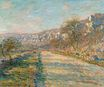 Claude Monet - Road of La Roche-Guyon 1880