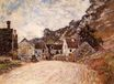 Claude Monet - The Hamlet of Chantemesie at the Foot of the Rock 1880