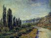 Claude Monet - The Road from Vetheuil 1880