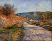 Claude Monet - The Road to Vetheuil 1880