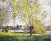 Claude Monet - The Willows 1880