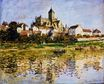 Claude Monet - Vetheuil, The Church 1880