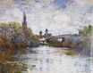 Claude Monet - Vetheuil, The Small Arm of the Seine 1880
