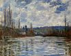 Claude Monet - Flood of the Seine at Vetheuil 1881