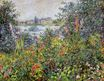 Claude Monet - Flowers at Vetheuil 1881