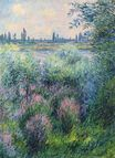 Claude Monet - Spot on the Banks of the Seine 1881