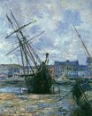 Claude Monet - Boats Lying at Low Tide at Facamp 1881