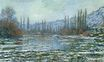 Claude Monet - The Thaw at Vetheuil 1881