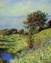 Claude Monet - Cliffs of Varengeville, Gust of Wind 1881