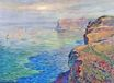 Claude Monet - Cliff at Grainval near Fecamp 1881