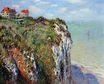 Claude Monet - Cliff at Dieppe 1882